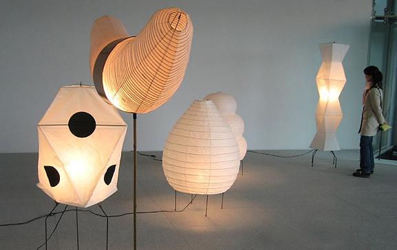 AKARI | NOGUCHI LAMP UF3-Q - Akari Noguchi Lamp UF3-Q : Surrounding.com