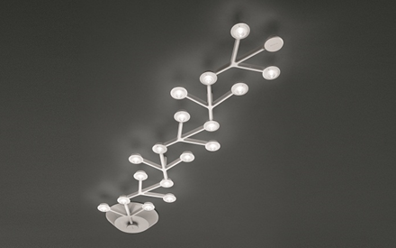 ARTEMIDE | LED NET LINE 125 CEILING LAMP