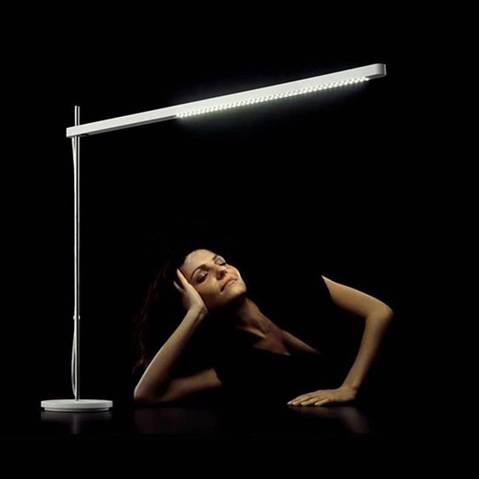 Artemide Talak Flu Table Lamp Surrounding Com