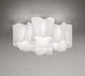 Artemide Logico Quadruple Nested Ceiling Lamp