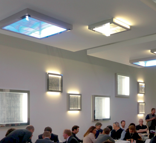 Artemide Altrove 600 Wall Ceiling Lamp Surrounding Com