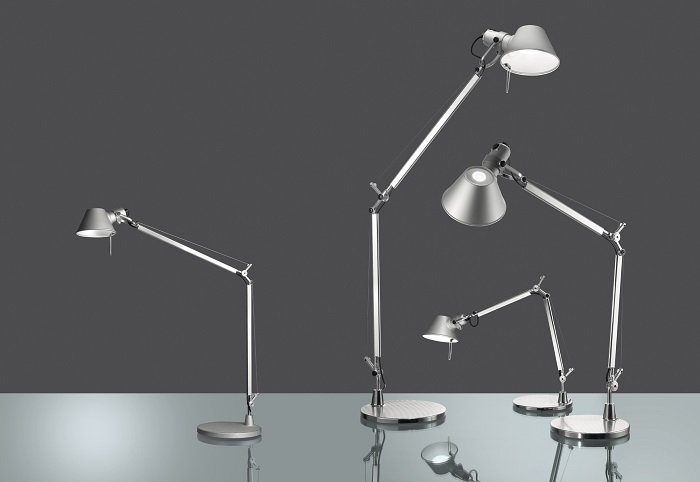 Artemide Tolomeo Midi LED Table Lamp surroundingcom