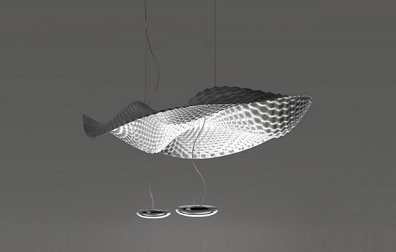 artemide cosmic angel pendant lamp. Black Bedroom Furniture Sets. Home Design Ideas
