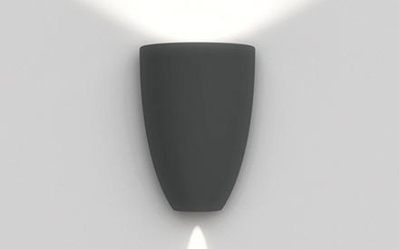 Artemide Outdoor Molla Wall LED Lamp by Artemide Outdoor