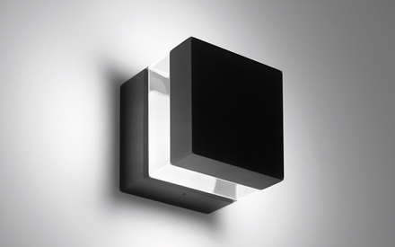 Artemide Outdoor Tetragono Wall LED Lamp by Artemide Outdoor