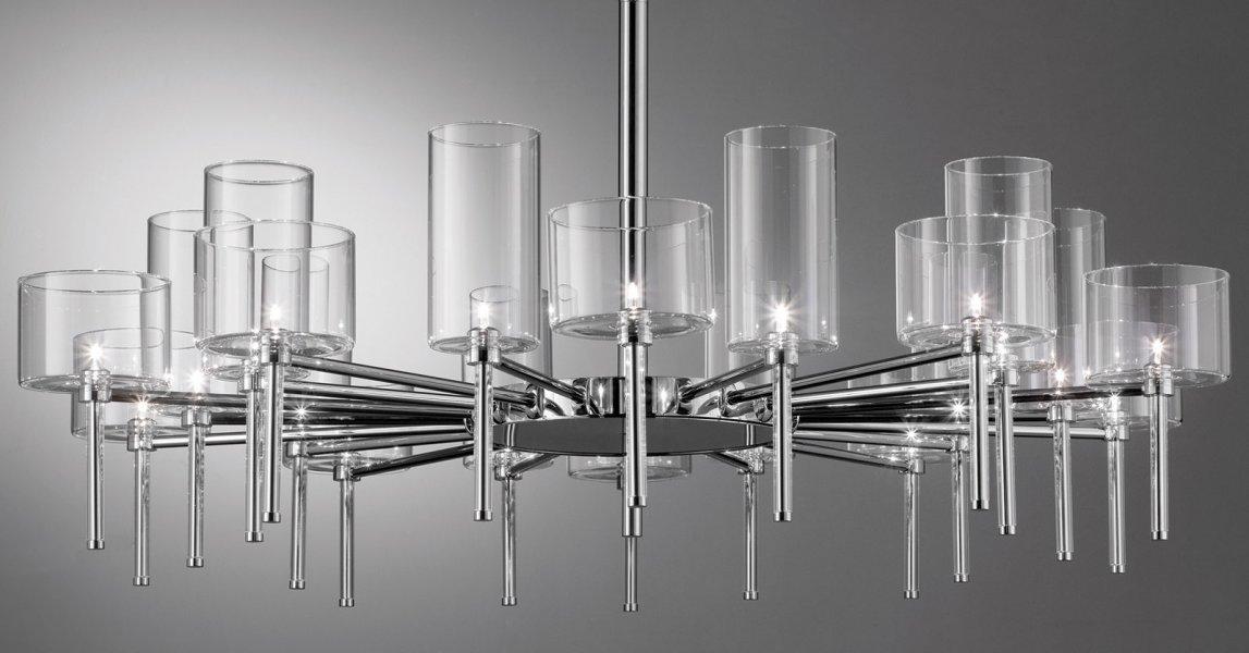 axo light spillray 20 26 chandelier lamp. Black Bedroom Furniture Sets. Home Design Ideas