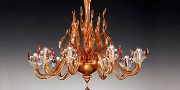 DE MAJO | FIRE K8 CHANDELIER