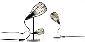 FOSCARINI | DIESEL CAGE TABLE LAMP