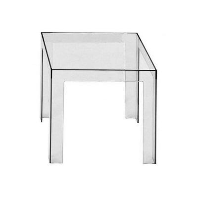 Kartell jolly side table - Table de nuit transparente ...
