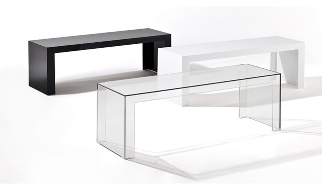 kartell invisible table. Black Bedroom Furniture Sets. Home Design Ideas