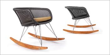 Lebello Chair 6 Rocking Chair by Lebello