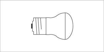 LIGHT BULBS | E14 / R14 REFLECTOR