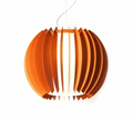 Lumen Center Orange Pendant Lamp