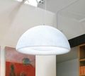 Lumen Center Iceglobe Semi Pendant Lamp