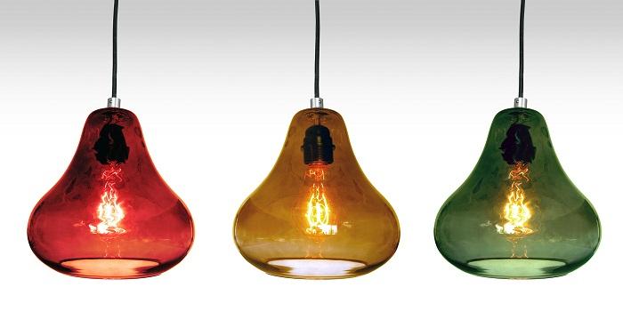 Luxello amber kiss pendant light surrounding amber kiss pendant light mozeypictures Gallery