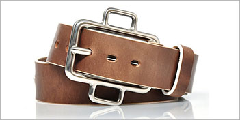 MICHAEL SANS BERLIN | LEATHER BELT N 005