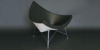 Modern Classics Nelson Coconut Chair : surrounding.com :  interior design spree new york new york style