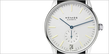 MODERN WATCHES | NOMOS ORION DATUM WATCH