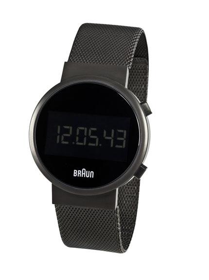 Modern Watches Braun Round Digital Watch Surrounding Com
