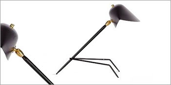 MOUILLE LIGHTING | TRIPODE DESK LAMP - SERGE MOUILLE