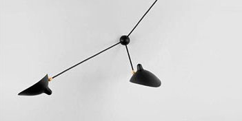 Mouille Lighting Spider Wall Ceiling 3 Arm Lamp by Mouill...