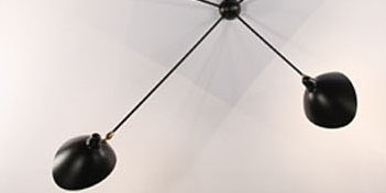 Mouille Lighting Spider 5 Arms Wall Lamp by Mouille Lighting