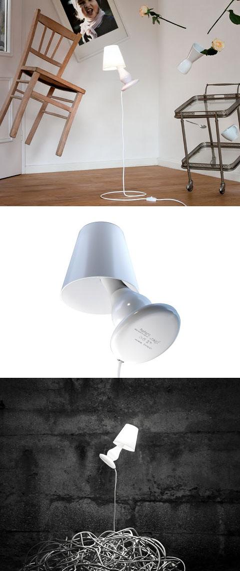 next flapflap floor lamp. Black Bedroom Furniture Sets. Home Design Ideas