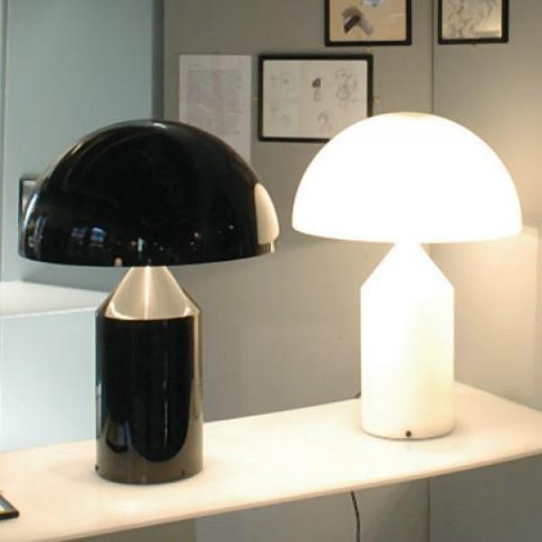 White Lamp Black Shade
