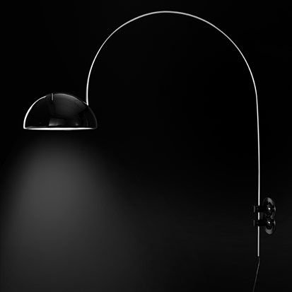 Oluce Coupe 1159r Wall Lamp Surrounding Com