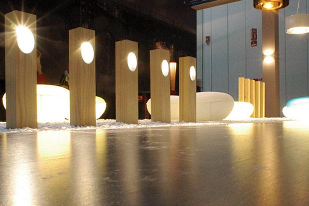 Lampade da esterno in legno lampadari in legno rustici con