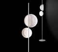 Oluce Superluna Floor Lamp