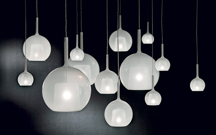 PENTA LIGHT | GLO WHITE PENDANT LAMP