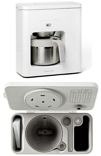 How To Use Rowenta Coffee Maker : Rowenta COFFEE MACHINE : surrounding.com