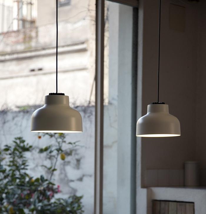 santa cole max bill pendant lamp. Black Bedroom Furniture Sets. Home Design Ideas