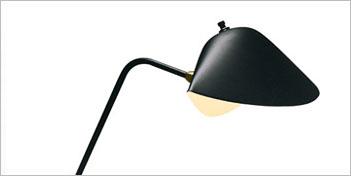 Serge Mouille Agraffee Desk Lamp by Serge Mouille