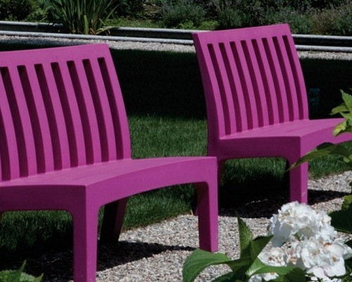 Serralunga furniture coast outdoor bench for Serralunga furniture