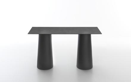 Serralunga furniture lou lou outdoor square table for Serralunga furniture