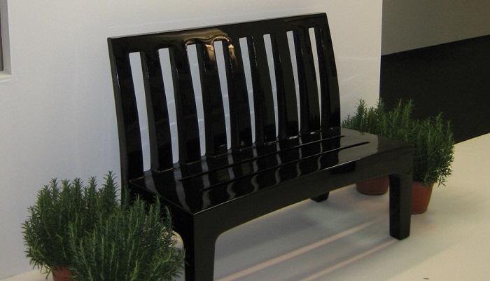 Serralunga furniture romeo outdoor bench for Serralunga furniture