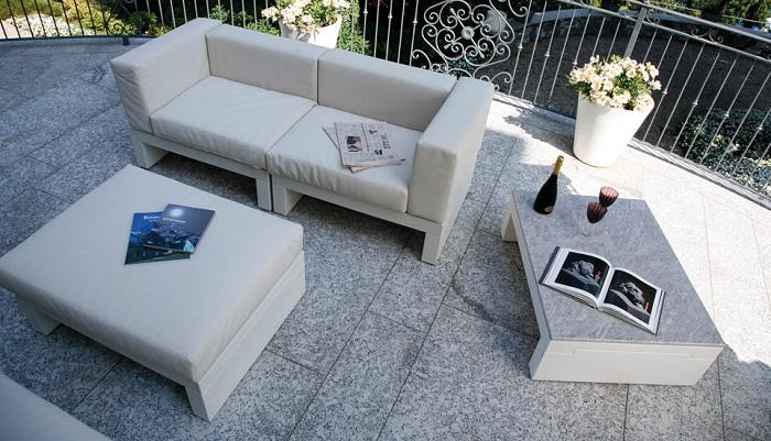Serralunga furniture hour sofa pouf and table for Serralunga furniture