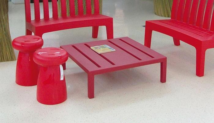 Serralunga furniture porcino outdoor stool for Serralunga furniture