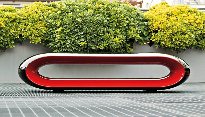 Serralunga furniture loop outdoor bench for Serralunga furniture