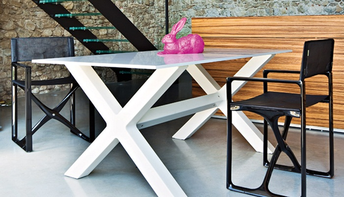Serralunga furniture banquete outdoor table for Serralunga furniture