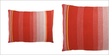 Thomas Eyck T.E. 036 Cushion Dark Red by Thomas Eyck