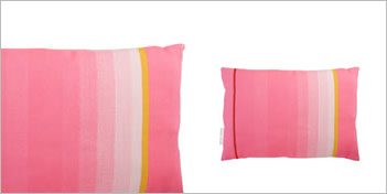 Thomas Eyck T.E. 030 Dark Pink Cushion  by Thomas Eyck