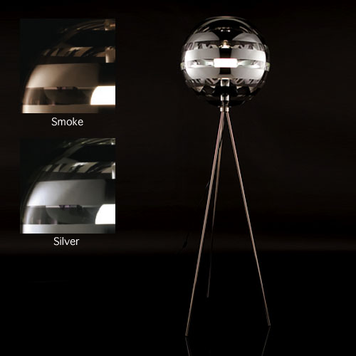 Zebra Floor Lamps : Viso zebra floor lamp surrounding