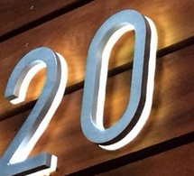 modern led house number illuminated outdoor backlit address numbers