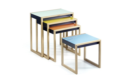 AMEICO | ALBERS NESTING TABLES