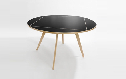 AMEICO | MAX BILL SQUARE ROUND TABLE