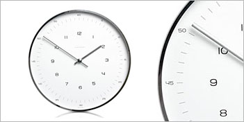 AMEICO | MAX BILL WALL CLOCK NUMBERS