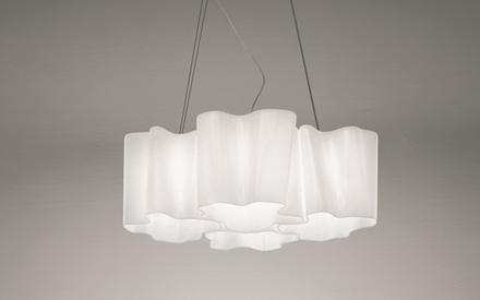 ARTEMIDE | LOGICO QUADRUPLE NESTED PENDANT LAMP